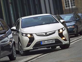 Семейство гибридов Opel Ampera расширится до трех моделей