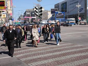 В России уменьшилось число ДТП по вине пьяных пешеходов