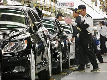 Японские автозаводы в 2010 году не смогут вернуться на докризисный уровень производства