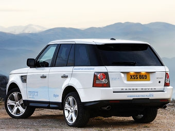 В Женеве покажут гибридный Range Rover