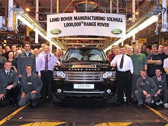 Выпущен миллионный экземпляр внедорожника Range Rover