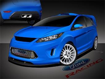 Ford разработал 350-сильную версию хэтчбека Fiesta