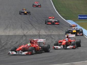 FIA разрешила командную тактику в Формуле-1