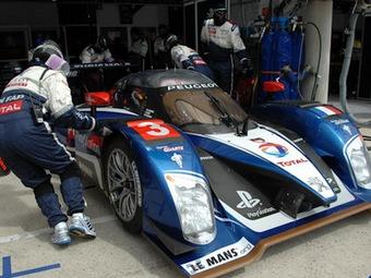 Гонщики Peugeot в квалификации Ле-Мана разгромили конкурентов