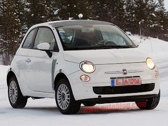 Начались испытания полноприводной версии Fiat 500