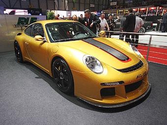 Ателье RUF переделало Porsche 911 Turbo в карбоновый суперкар
