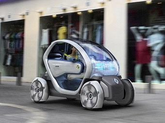 Владельцев разряженных электрокаров Renault будут развозить по домам