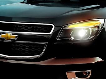 Появилось первое изображение нового пикапа Chevrolet