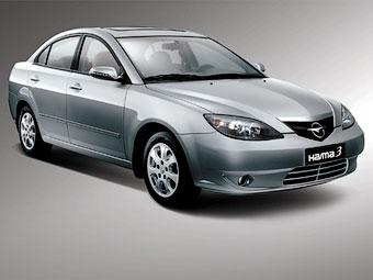 В Черкесске началась сборка китайской копии Mazda3