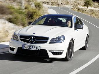 Купе Mercedes-Benz C-Class получило модификацию от AMG