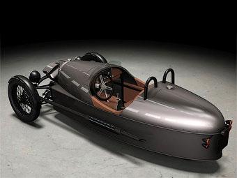 Компания Morgan официально представила трехколесный автомобиль