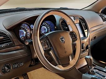 Появились фотографии интерьера нового седана Lancia