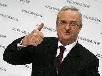 Руководитель Volkswagen заработал за год 9,3 миллиона евро