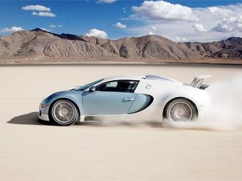 Bugatti выпустит сверхмощную версию модели Veyron
