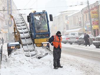 В Москве ограничат парковку для очистки улиц от снега