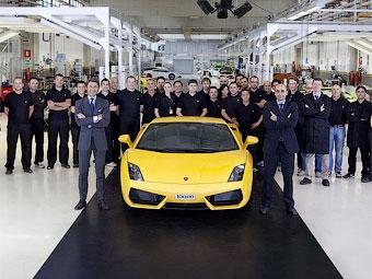 Компания Lamborghini выпустила 10-тысячный экземпляр Gallardo