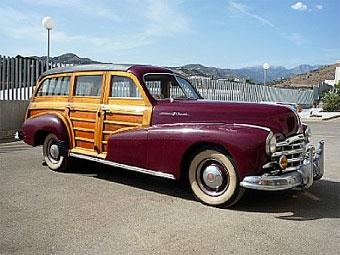 """Единственный в Европе """"деревянный"""" универсал Pontiac уйдет с молотка"""