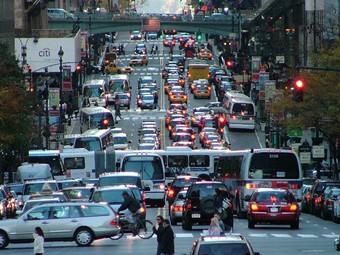 Американские водители проехали за год три триллиона километров