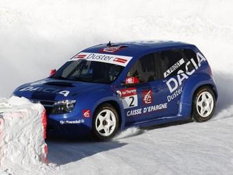 Ален Прост выиграл первый этап ледовых гонок Trophee Andros