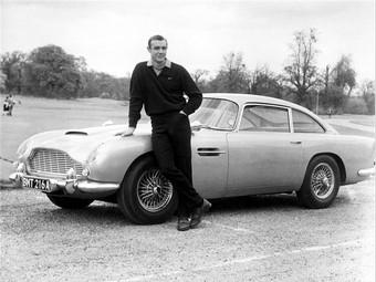 Aston Martin Джеймса Бонда выставят на продажу