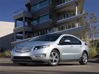 GM испытывает электрокар Chevrolet Volt с роторным двигателем