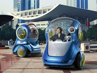 Концерн GM представил прототипы автомобилей будущего