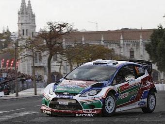Микко Хирвонен стал лидером по итогам первого дня Ралли Португалии