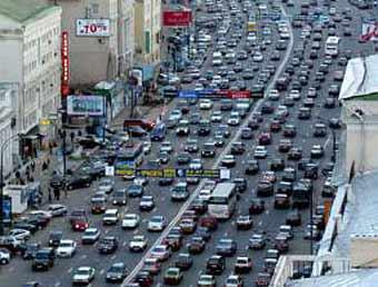 Москва меняет схему дорожного движения