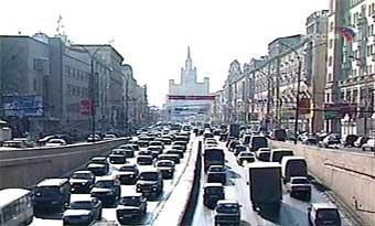 В центре Москвы изменилась схема движения автотранспорта