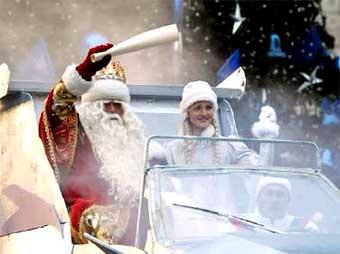 Дед Мороз на полдня перекроет Тверскую улицу