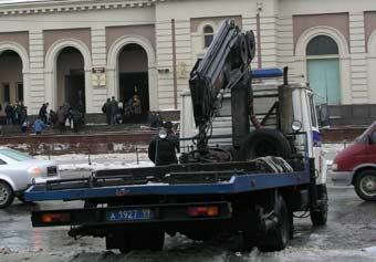 Московская мэрия запретила эвакуацию машин