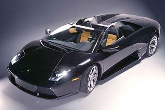 Lamborghini Murcielago сорвало крышу