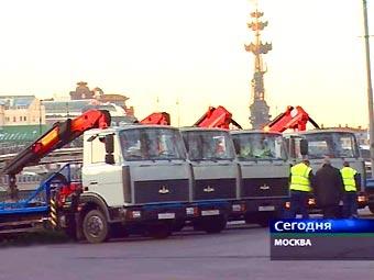 Московские эвакуаторы вышли на охоту