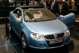 VW задержит выпуск Eos из-за проблем с крышей