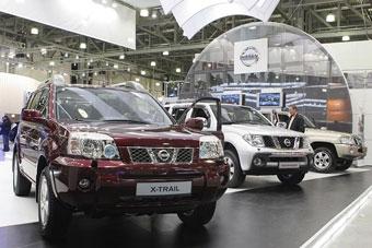 В Москве открылась выставка полноприводных автомобилей