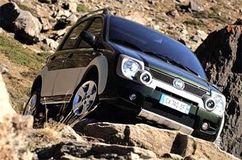 Fiat показал еще одну полноприводную версию модели Panda