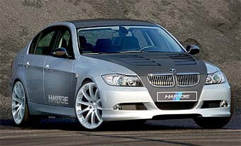 В Hartge построили BMW 3-Series с мотором от M5