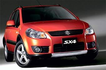 Кроссовер Suzuki SX4 покажут на автошоу в Женеве