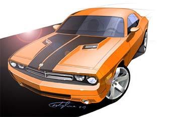 В Детройте покажут прототип купе Dodge Challenger