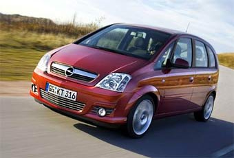 Opel Meriva немного обновилась