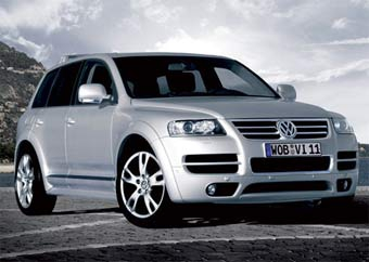 VW Touareg получает спортивную версию с 12-цилиндровым мотором