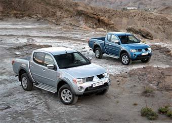 Европейские продажи пикапа Mitsubishi L200 начнутся с 2006 года