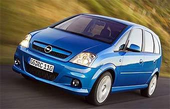 "Opel представил ""заряженную"" версию компактвэна Opel Meriva"