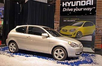 Hyundai показал трехдверный Hyundai Accent
