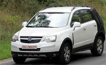 Новое поколение Opel Frontera покажут будущей весной