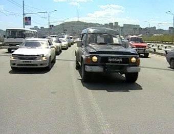 Автомобилисты парализовали движение в центре Владивостока