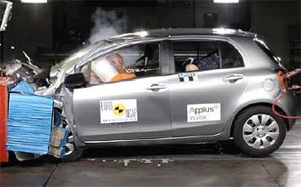 Toyota Yaris и Fiat Croma успешно прошли краш-тесты Euro NCAP