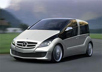 Mercedes показал прототип автомобиля на топливных ячейках