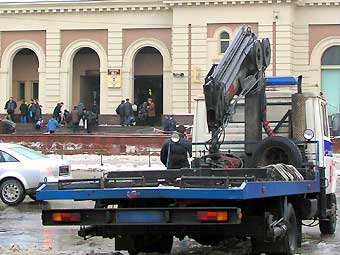 Москва обходится без эвакуаторов последний день