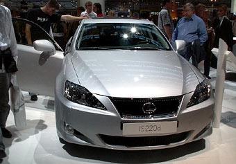 Lexus IS первым получит новый дизельный мотор